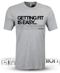 Getting Fit Mens Slogan Tee