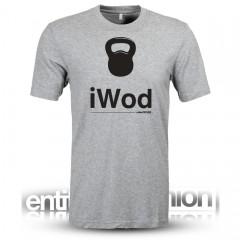 iWod Grey Mens Slogan Tee