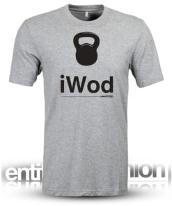 iWod Grey Mens Slogan Tee
