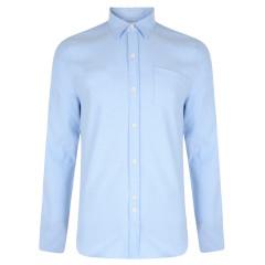 Bellfield Mens Dunes Sky Blue Long Sleeve Shirt
