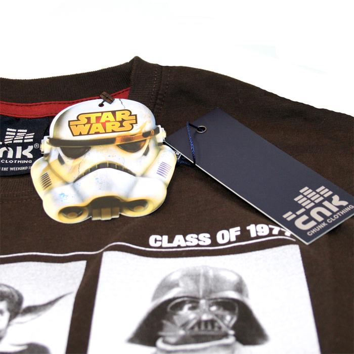chunk wars class of 77 t shirt chocolate ic clothing