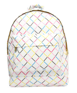 Mi-Pac Backpack Crisscross White