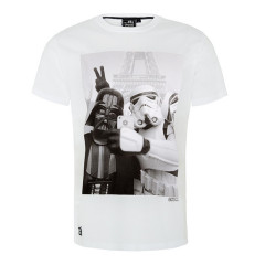 Chunk Star Wars Selfie T-Shirt White