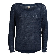 Only Geena Navy Loose Knit Jumper