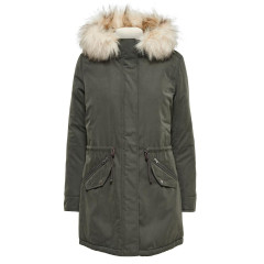 Only Womens Lucca Khaki Parka