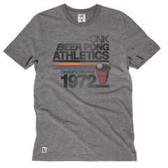 Chunk Beer Pong T-Shirt Grey Marl
