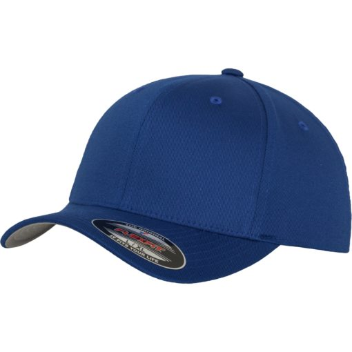 Yupoong Mens Royal Flexfit Baseball Cap