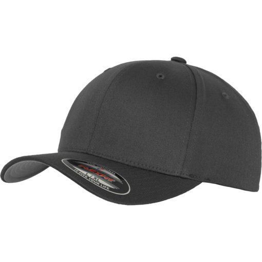 Yupoong Mens Dark Grey Flexfit Baseball Cap