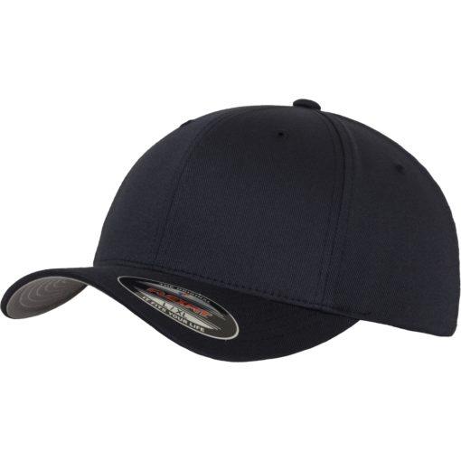 Yupoong Mens Dark Navy Flexfit Baseball Cap
