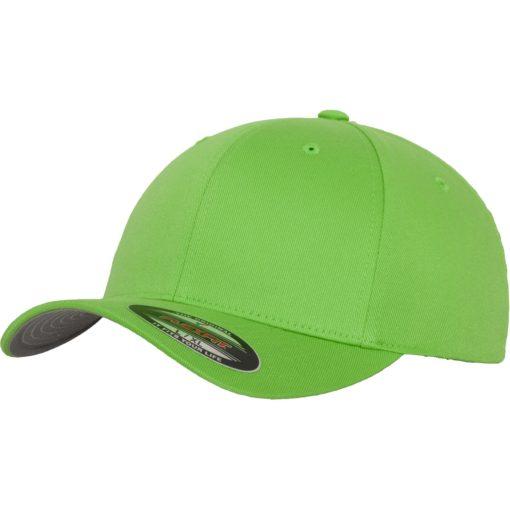 Yupoong Mens Fresh Green Flexfit Baseball Cap