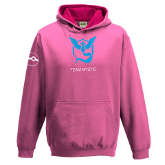 Pokemon Go Team Mystic Childrens Hoody Pink Gaming