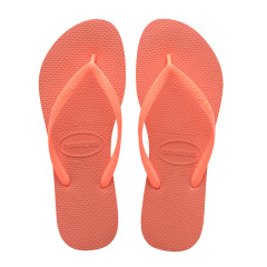 Havaianas Womens Slim Orange Cyber