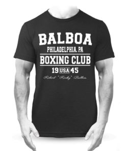 Balboa Boxing Club Black Training Premium T-Shirt Rocky
