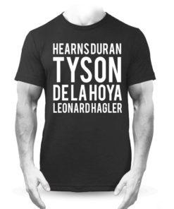 Tyson Hagler Boxing Legends Black Training Premium T-Shirt