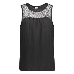 Only Jaqueline De Yong Timber Vest in Black