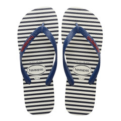 Havaianas Mens Top Nautical White Navy