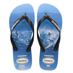 Havaianas Mens Photoprint Black Blue