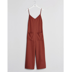 Native Youth Womens Rust Equinox Jumpsuit