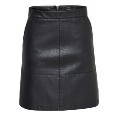 Only Lisa Faux Leather Skirt