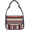 Fiorelli Dakota Navy Weave Shoulder Bag