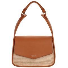 Fiorelli Dakota Tan Raffia Shoulder Bag
