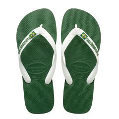 Havaianas Womens Flip Flops Brasil Logo Amazonia