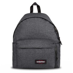 Eastpak Unisex Padded Pak'r Black Denim Backpack