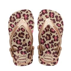 Havaianas Baby Flip Flops Chic Beige/Rose Gold