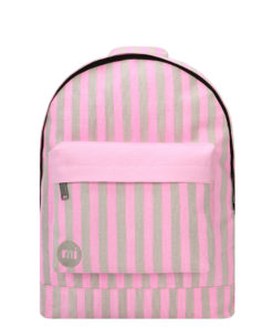 Mi-Pac Backpack - Seaside Stripe Pink/Sand