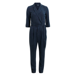 Vila Mayor Blue Crossover Jumpsuit