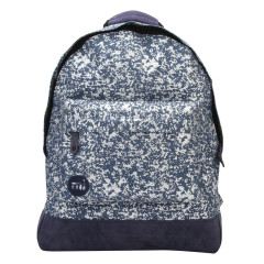 Mi-Pac Backpack Denim Splatter Indigo/Silver