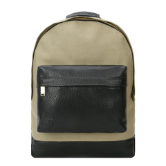 Mi-Pac Backpack Canvas Tumbled Khaki/Black