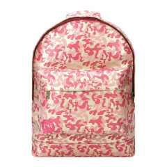 Mi-Pac Backpack Metallic Camo Gold/Pink