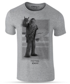 Mouse over image to zoom Have one to sell? Sell it yourself Surfer Surfing Chewbacca Wookie Grey Premium Funny T-Shirt Newquay Star Wars
