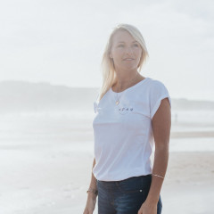 Noah Project Newquay Ladies T-shirt White