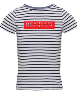 BONJOUR LADIES NAUTICAL STRIPED T-SHIRT