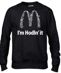 I'm Hodln' It Cryptocurrency Crew Black Mens Bitcoin Ethereum Ripple BTC