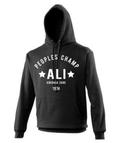 Muhammad Ali Rumble In The Jungle Black Hoodie