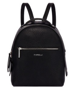Fiorelli Womens Anouk Black Small Backpack
