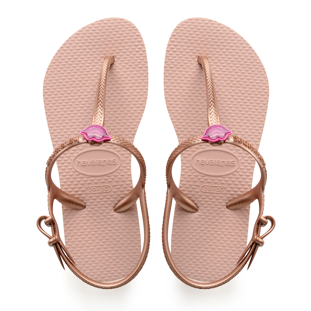 1d32c18da523e Havaianas Kids Freedom Ballet Rose Flip Flops - IC Clothing