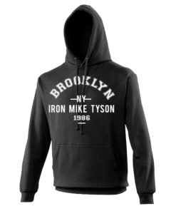 Iron Mike Tyson Brooklyn Black Hoodie