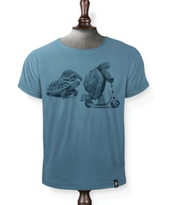 Dirty Velvet Rapid Reptile Blue Tee