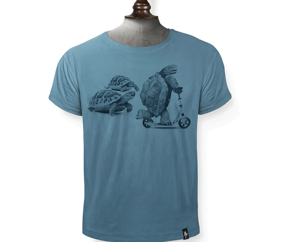 a26f88448 Dirty Velvet Rapid Reptile Blue Tee - IC Clothing
