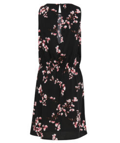 B.Young Irianna Black Floral Print Dress