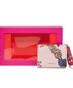 Fiorelli Eleanor Nude Print Credit Card Holder