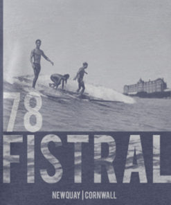 Fistral 78 Retro Surf T-Shirt Heather Midnight