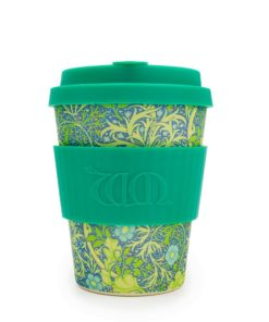 Reusable Ecoffee Coffee Cup Seaweed Marine William Morris 12oz