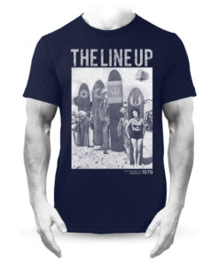 The Line Up Star Wars Retro Surf T-Shirt Navy