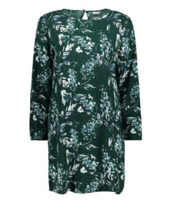 Only JDY Billie Scarab Green Floral Tunic Dress