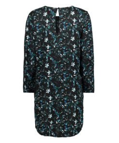 Only JDY Billie Black Floral Tunic Dress